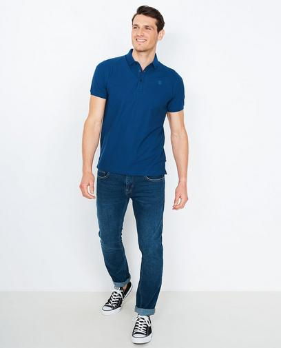 Polo met slim fit
